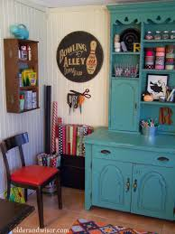 older and wisor the perfect use for an old hutch craft storage