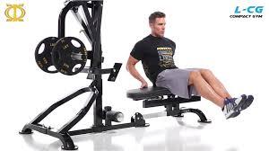 l cg powertec compact gym youtube