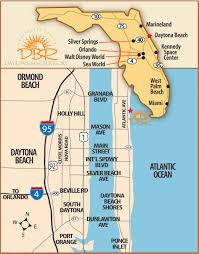 Map Of Florida East Coast Beaches by Daytona Beach Florida Spring Break 2018 Destinations Break Now