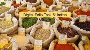 digital folio task 5 indian culture ppt video online download