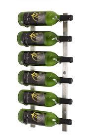 vintage view 18 bottle wall mounted wine rack cru wine furnishings