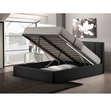 White Bed Frame With Storage Bed Frames Queen Platform Bed With Storage And Headboard Twin