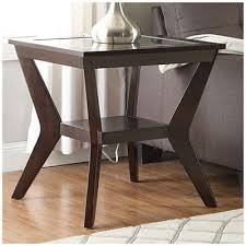 espresso beveled glass coffee table beveled glass espresso end table at big lots ideas for the house