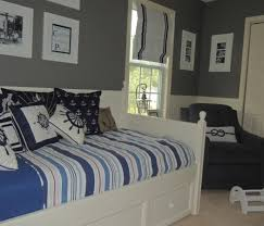 bedding set interesting navy blue and gray nursery bedding