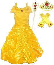 princess belle dress girls ebay