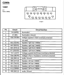 99 f150 radio wiring diagram 99 wiring diagrams instruction