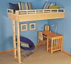 How To Make A Loft Bed With Desk Build A Loft Bed