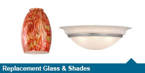 Replacement Glass Shades For Ceiling Light Fixtures Patriot Lighting At Menards