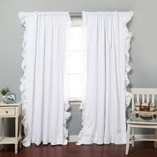 Ruffled Curtains Nursery by Blackout Curtains Nursery Blackout Curtains Target Blackout