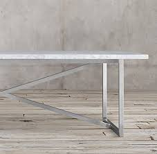 Restoration Hardware Tables Torano Marble Rectangular Dining Table