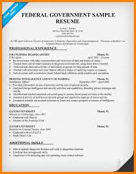 Sample Government Resume by Government Resume Template Professional Government Resume Samples