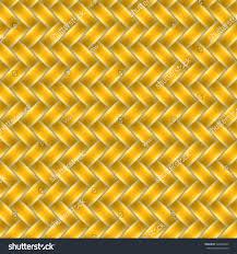 marigold orange color wicker seamless pattern stock vector