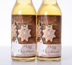 christmas custom beer u0026 wine labels labelsrus