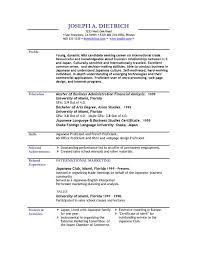 free template resume cv sles jcmanagement co