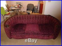 Mohair Upholstery 1930 U2032s Antique Deco Sofa Set Original Upholstery Custom Mohair