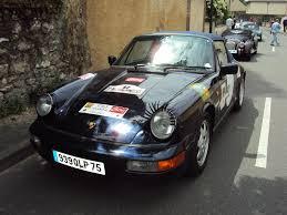 1990 porsche 911 convertible file porsche 964 convertible 1990 rallye des princesses 2014