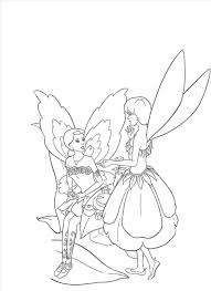 fantastic barbie fairy coloring pages wall picture awesome