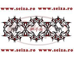 tribal bracelet the japanese symbol of leo