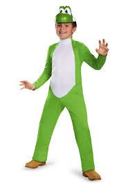Tween Girls Mario Costume Yoshi Deluxe Costume For Boys