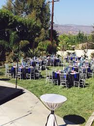 black blue and silver color scheme silver chiavari chairs with