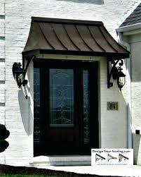 Awnings Atlanta Modern Front Door Canopy Modern Door Awning Example Of A