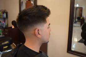 textured top faded sides 50 best medium fade haircuts amp up the style in 2018