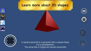 learn 2d and 3d shapes simple 3d shapes objects games android apps on google play