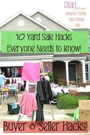 10 yard sale hacks that everyone needs to know yard sale signs