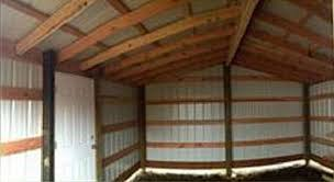 How To Build A Pole Shed Roof by Pole Barn Building Materials List And Plans Barns Pole Barns
