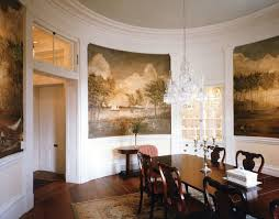 Southern Dining Rooms Plantation Style Southern Estate Traditional Dining Room