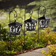 Shepherd Hook Solar Lights by Disney Solar Lantern With Stake Tinker Bell Outdoor Living
