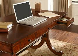 Writing Desks For Home Office Brookview Home Office Writing Desk With Poplar Solids Cherry