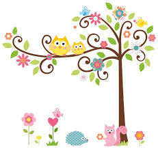 Decorative Owls by Decorative Wall Art Stickers Picture More Detailed Picture About