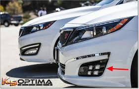 2013 kia optima led fog light bulb k5 optima store 2014 2015 kia optima dual colored quad led fog lights