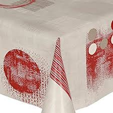 maroon plastic table covers pvc tablecloth red shapes 2 5 metres 250cm x 140cm modern shapes