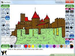 color tux paint 6 steps pictures wikihow