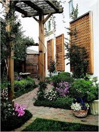 Backyard Privacy Screens by Garden Design Garden Design With Privacy Screen Ideas On