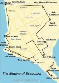 middle east map medina essaouira medina maps