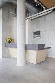 Concrete Reception Desk A Custom Reception Desk Brad Weesner Design