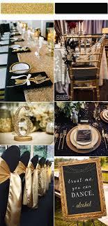 black and gold wedding ideas stylish wedd page 9 wedding ideas etiquette every