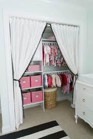 Curtains Closet Doors Curtains In Place Of Closet Doors Design Ideas