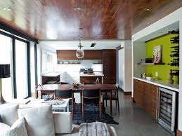 Accent Wall Ideas For Kitchen Modern Kitchen With Green Accent Video And Photos