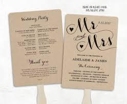 cheap wedding fan programs wedding fans printable wedding fan program template fan wedding