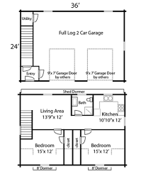 garage floor plan coventry log homes our log home designs cabin series the