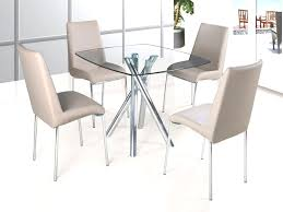 Black Glass Dining Table And 4 Chairs Furniture 0115687 Pe269283 S3 Mesmerizing Glass Table And 4