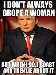 Sexual Harrassment Meme - trump the most serious man in the world imgflip