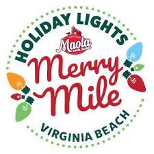 virginia beach christmas lights 2017 holiday lights moala milk merry mile opens in virginia beach wtkr com