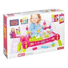 mega bloks first builders table mega bloks play table first builders pink bricks and blocks