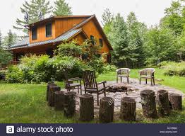 house porch side view summer quebec stock photos u0026 summer quebec stock images alamy