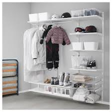 algot wall upright shelves rod ikea